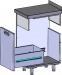Стол под мусорный бак HICOLD НБММБ-4/7Б